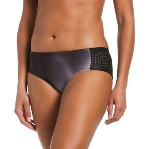 Nike Women's Nike Mesh-Side Hipster Swim Bottom, Size: XXL, Black
