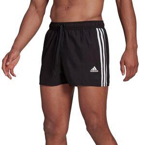Men's adidas 3-Stripe Classic Swim Trunks, Size: XXL, Black