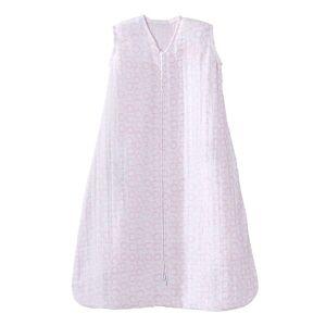 HALO Baby HALO SleepSack Pink Circles Muslin Wearable Blanket, Infant Girl's, Size: Medium, Light Pink