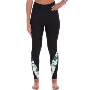 Women's Soulgani Lux Strong Soul Camo Leggings, Size: XL, Black