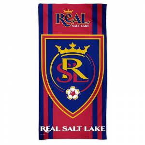 """WinCraft Real Salt Lake 30"""" x 60"""" Full Color Beach Towel, Multicolor - Size: One Size"""