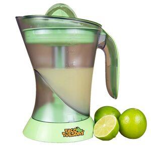 Taco Tuesday Electric Lime Juicer & Margarita Kit, Green