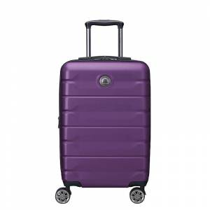 Delsey Air Armour Hardside Spinner Luggage, Purple, 28 INCH - Size: 28 INCH