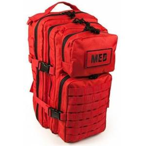 Elite First Aid, Inc. Tactical Trauma Kit #3   Red