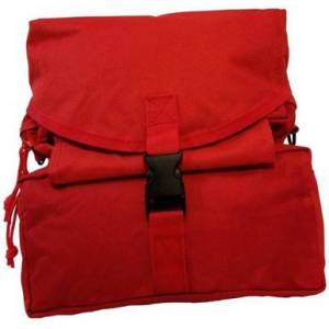 Elite First Aid, Inc. M3 Medic Bag   Red   Nylon/Rubber/Stainless Steel
