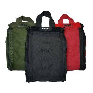 Elite First Aid, Inc. Patrol Trauma Kit Level 1   Red