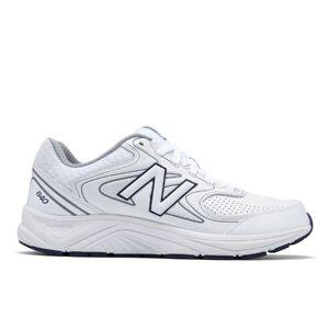 New Balance Men's 840v2  - White/Navy - Size: 15 4E