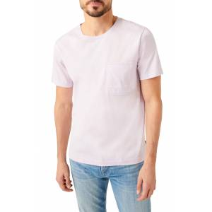 7 For All Mankind Pocket Crewneck T-Shirt, Size Xx-Large in Lilac at Nordstrom