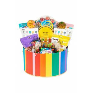 Dylan's Candy Bar Oversized Deluxe Hat Box Gift Basket