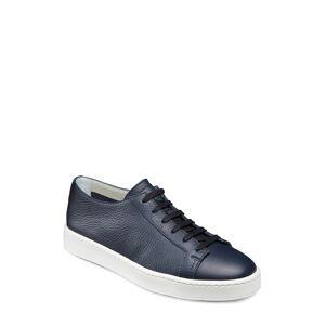 Men's Santoni Cleanic Sneaker, Size 8 D - Blue
