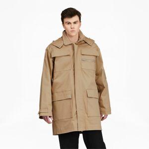 Puma x MAISON KITSUN Military Jacket in Travertine, Size XXL