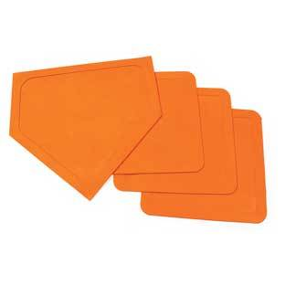 Champion Sports Indoor Outdoor Bases  Set of 4 by Champion Sports