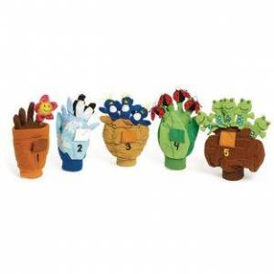 Excellerations[r] Excellerations Counting Pop Up Puppets  Set of 5 by Excellerations[r]