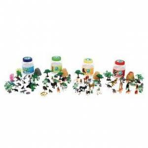 Excellerations Animal Bucket Playset 126 Pieces Set of All 4 by Excellerations