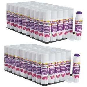 Colorations[r] Colorations Washable Premium Purple Glue Sticks Set of 120 032 oz ea by Colorations[r]