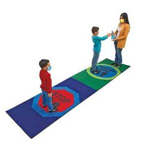 Really Good Stuff LLC Sanitize Here Carpet Runner 3 x 12 by Really Good Stuff LLC