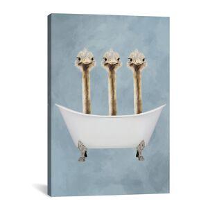 "iCanvas Ostriches In Bathtub by Coco de Paris   - Size: 18"" x 26"""