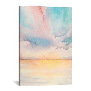 """iCanvas Sea Sunset Triptych II by Grace Popp   - Size: 18"""" x 26"""""""