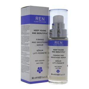 REN 1.02oz Firming And Smoothing Serum   - Size: NoSize