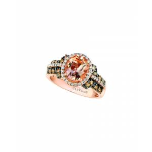 Le Vian? 14K Rose Gold 1.97 ct. tw. Diamond & Morganite Statement Ring   - Size: 7