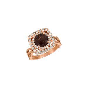 Le Vian 14K Rose Gold 2.45 ct. tw. Diamond & Quartz Ring   - Size: 7