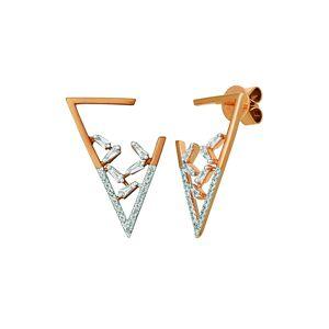 Le Vian 14K Rose Gold 0.45 ct. tw. Diamond Earrings   - Size: NoSize