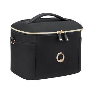 Delsey Montrouge Tote Beauty Case  -Black - Size: NoSize