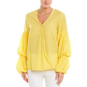 Marina Kaneva Top  -Yellow - Size: 12