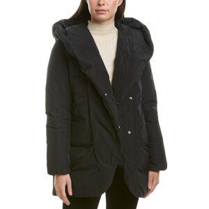 add Short Down Jacket  -Black - Size: 42