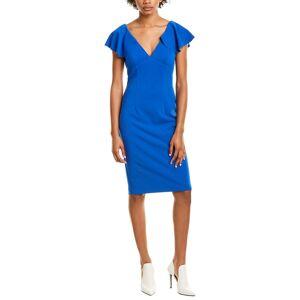 Marina Ruffle Sheath Dress   - Size: 4