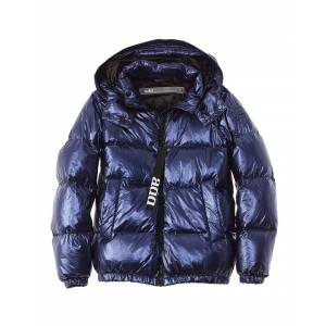 add Down Jacket  -Blue - Size: 4
