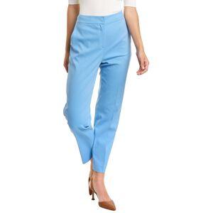 St. John Stretch Straight Leg Pant  -Blue - Size: 18