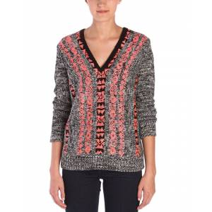Vincent Twelfth Street by Cynthia Vincent Pullover Sweater  -Black - Size: p