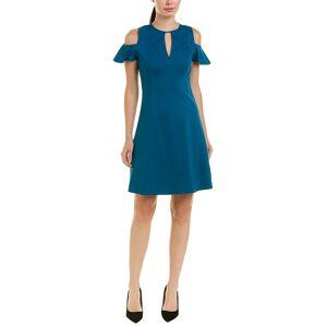 Elie Tahari Linen-Blend A-Line Dress   - Size: 8