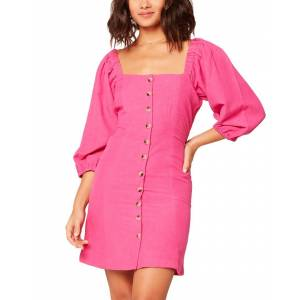 L*Space Marina Cover-Up Dress  -Pink - Size: Extra Large
