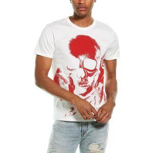 Alexander McQueen Skull T-Shirt  -White - Size: Small