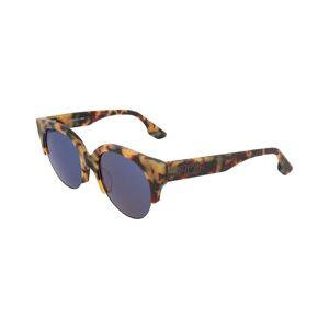 Alexander McQueen Women's MQ0048SA 54mm Sunglasses  -havana - Size: NoSize