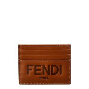 FENDI Leather Card Case   - Size: NoSize