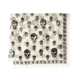 Alexander McQueen Skull Silk-Blend Scarf   - Size: NoSize