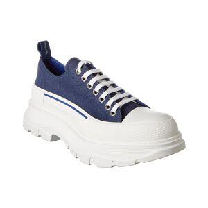 Alexander McQueen Tread Slick Canvas Sneaker   - Size: 40.5