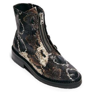 All Saints AllSaints Ariel Leather Combat Boot   - Size: 8