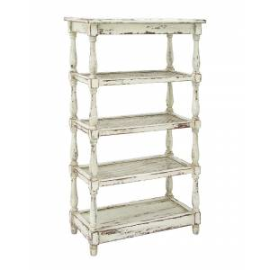 UMA Enterprises Wood & Metal Shelf   - Size: NoSize