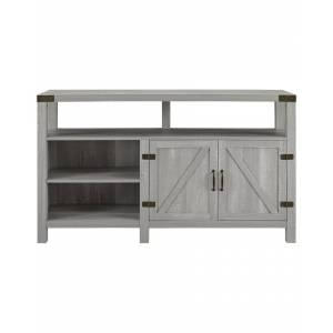 """Hewson 58in Tall Farmhouse Wood TV Stand Storage Console   - Size: 58"""""""
