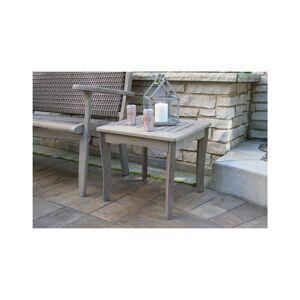 Outdoor Interiors Grey Wash Eucalyptus End Table   - Size: NoSize