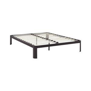 Modway Corinne Steel Bed  -Brown - Size: Queen