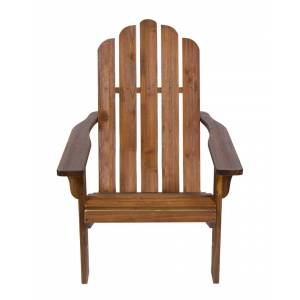 Shine Co. Adirondack Chair With Hydro-Tex Finish  -Brown - Size: NoSize