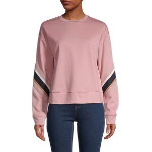 Ted Baker London Women's Jordan Striped Dropped-Shoulder Sweatshirt - Pale Pink - Size 5 (12)  Pale Pink  female  size:5 (12)