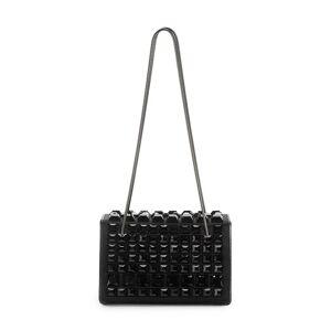 Akris Women's Alice Embellished Satin Shoulder Bag - Black  Black  female  size:one-size