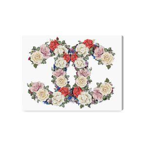 """Oliver Gal Doll Memories Exquisite Floral Wonder Fine Art Canvas Print - Blush Cream - Size 16"""" x 12""""  Blush Cream  unisex  size:16"""" x 12"""""""