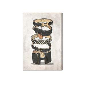 "Oliver Gal Dark Arm Candy Wishbone Canvas Art - White Multi - Size 10"" X 15""  White Multi  unisex  size:10"" X 15"""